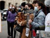 108 وفيات وأكثر من 5 آلاف إصابة جديدة بفيروس كورونا فى فرنسا خلال 24 ساعة