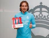 مودريتش أفضل لاعب فى ديسمبر مع ريال مدريد