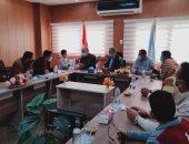 توزيع 48 وحدة إسكان إدارى بمنطقة بريزى بمدينة سيوة فى مطروح