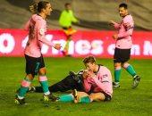 """رايو فاليكانو ضد برشلونة .. دي يونج يتقدم للبارسا بالهدف الثاني """"فيديو"""""""
