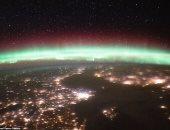 شاهد الشفق القطبى من الفضاء على ارتفاع يزيد عن 250 ميلاً فوق الأرض