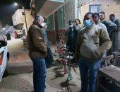 تغريم 10 مواطنين لعدم ارتداء الكمامة فى حملة بمدينة إسنا بالأقصر