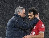 ماذا دار بين محمد صلاح ومورينيو عقب مباراة توتنهام ضد ليفربول