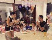 4 قلوب مليئة بالحب والأحلام.. جورجينا رودريجيز تكشف تهانى أولادها بعيد ميلادها