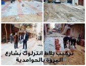 """""""الجيزة"""" تشن حملات لرفع الإشغالات والمخلفات بشوارع المحافظة.. صور"""