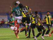 ملخص وأهداف مباراة الإتفاق ضد الاتحاد فى الدوري السعودي
