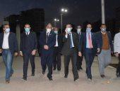 محافظ الغربية وأعضاء النواب والشيوخ يتفقدون تطوير ميدان المحطة بكورنيش طنطا
