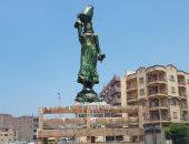 """مصصم تمثال """"الفلاحة"""" ببلبيس: لجنة التراث غير متخصصة وإزالة التمثال تشويه بصرى"""