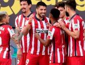سواريز وفيليكس يتصدران قائمة أتلتيكو مدريد ضد تشيلسي بدورى الأبطال