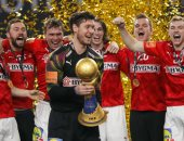 مدرب الدنمارك: سعيد بالاحتفاظ باللقب والدفاع وحارس المرمى لهم الدور الأكبر