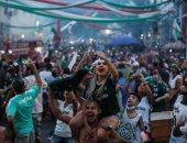 جماهير بالميراس تحتفل بكأس ليبرتادوريس فى شوارع ساو باولو.. فيديو وصور