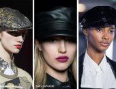قبعة بائع الصحف تسيطر على عروض الأزياء العالمية من دولتشى آند جابانا لديور