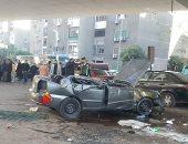 إصابة شخصين فى حادث تصادم بطريق مصر السويس الصحراوى