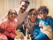 علا رشدى تحتفل بعيد ميلاد أحمد داود: أطيب وأحن زوج وأب فى الدنيا.. فيديو وصور
