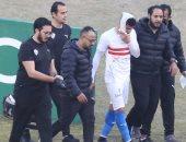 12 غرزة فى فك محمد عبد الغنى واللاعب يشارك فى تدريبات الزمالك غدًا