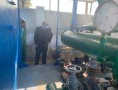 مياه القناة: إعادة تأهيل ورفع كفاءة محطة المنايف الكومباكت بالإسماعيلية
