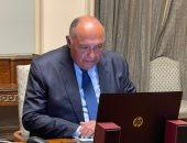 شكرى يبحث مع المبعوث الخاص للأمم المتحدة لعملية السلام دعم القضية الفلسطينية
