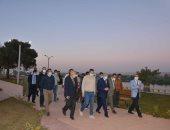 محافظ المنيا يُشدد على سرعة الانتهاء من تنفيذ أعمال تطوير الكورنيش.. صور