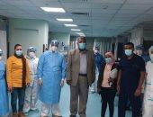 تعافى وخروج 6 حالات من فيروس كورونا بمستشفى الأقصر العام