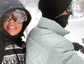 كريستيانو رونالدو يخوض مغامرة جديدة مع صديقته جورجينا وسط الثلوج.. فيديو وصور