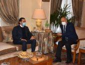 أبو الغيط يستقبل سعد الحريرى.. ويؤكد: إنقاذ لبنان أولوية.. صور