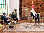 الرئيس السيسي يستقبل سعد الحريري المكلف برئاسة الحكومة اللبنانية