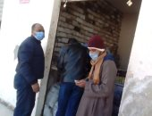 تحرير 34 مخالفة تموينية و22 محضر عدم ارتداء الكمامة خلال حملة بالمنيا