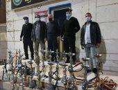تغريم 5 مواطنين بدون كمامات وضبط 23 شيشة خلال حملة تفتيشية بالأقصر