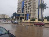 الطقس في مصر .. سقوط أمطار غزيرة على مراكز الدقهلية.. والمرور تحذر السائقين