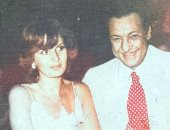 يسرا فى صورة نادرة مع الدنجوان رشدى أباظة منذ أكثر من 40 عامًا