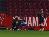برشلونة يتأهل لنصف نهائي كأس إسبانيا بانتصار درامى على غرناطة