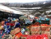 أسعار الخضروات اليوم بسوق العبور .. كيلو البسلة بين 3-5 جنيهات