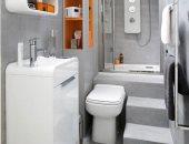 ديكور الحمامات الصغيرة أسهل من زمان.. أفكار ذكية لاستغلال كل الأركان بأناقة