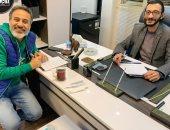 """الفنان إيهاب فهمي ينضم إلى أسرة فيلم """"آل هارون"""".. صور"""