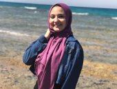 برة الملعب.. إنجى هشام لاعبة الجزيرة: هوايتى الموسيقى وبحلم أكون صحفية