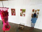 """انطلاق معرض """"حالات قمرية"""" للفنانة وفاء ياديس أون لاين الأسبوع المقبل"""