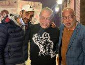 أشرف زكى ينهى خلاف شريف دسوقى وأحمد الجناينى بمسرح نقابة الممثلين