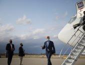 بايدن يتوجه إلى منزله القديم بديلاوير فى أول رحلة له على متن الطائرة الرئاسية