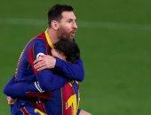 ميسي يقود برشلونة لخطف فوز قاتل من أنياب ريال بيتيس بالدوري الاسباني.. فيديو