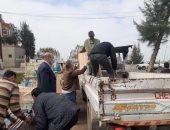 تحرير 35 محضرا تموينيا ورفع 325 حالة اشغال ومصادرة 93 شيشة بالبحيرة