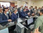 وزير التموين ومحافظ المنيا يفتتحان 3 مراكز متطورة لخدمات المواطنين.. صور وفيديو