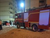 الحماية المدنية بالإسكندرية تسيطر على حريق نشب فى صالة جيم نادى سبورتنج