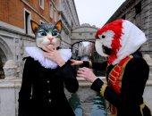 البهجة حياة.. روما تحتفل بكرنفال البندقية رغم قرار قيود كورونا.. ألبوم صور