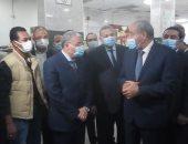 وزير التموين يتفقد الشركة المصرية ومطاحن المنيا