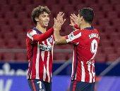 سواريز وفيلكس يسجلان أكثر من نصف أهداف أتلتيكو مدريد فى الليجا