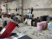 ضبط مصنع لتصنيع الأحذية بدون ترخيص بالإسكندرية