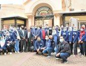 فريق متطوعى الغربية يبدأ أولى الرحلات السياحية لمسار العائلة المقدسة بسمنود