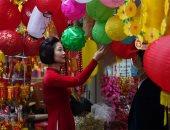 الفرحة لقطة جميلة.. مظاهر احتفال فيتنام بمهرجان الربيع