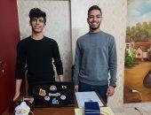 طالبان بالإسكندرية يخترعان برنامجا لتشغيل الكمبيوتر عن طريق اللسان.. فيديو وصور