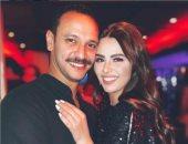 هنادى مهنى تتغزل فى زوجها أحمد خالد صالح: كلمة للأبد ليست كافية لحبى لك